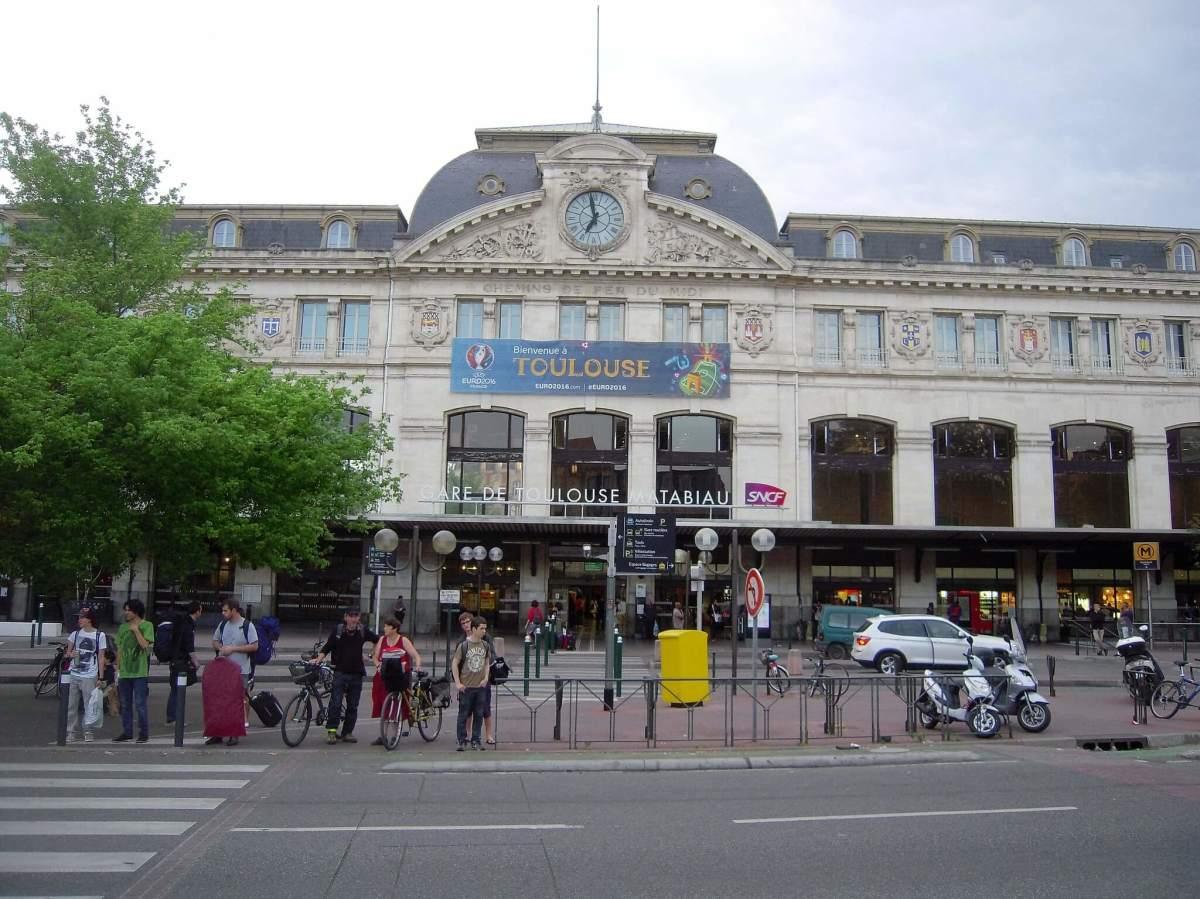 Investissement locatif Toulouse loi Pinel - La gare Matabiau à Toulouse