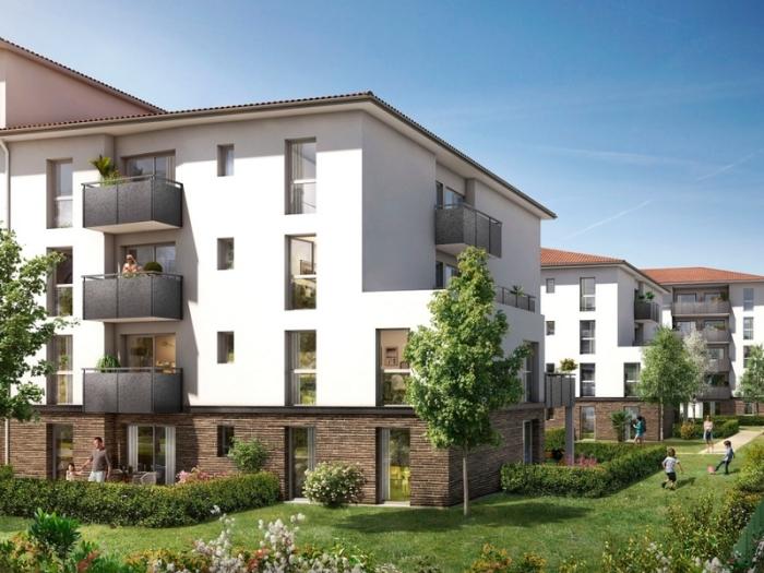 Appartements neufs Borderouge référence 5086 : aperçu n°0
