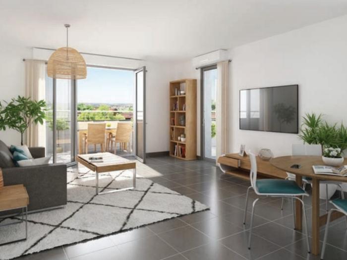 Appartements neufs Borderouge référence 4791 : aperçu n°1