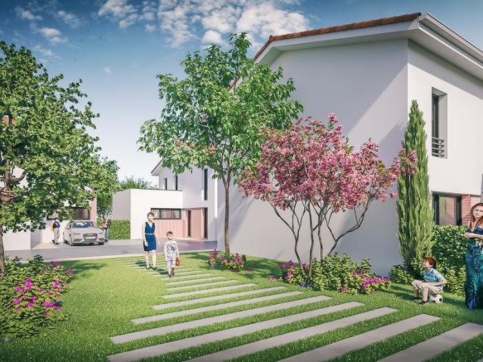 Maisons neuves et appartements neufs Lalande référence 4914 : aperçu n°4