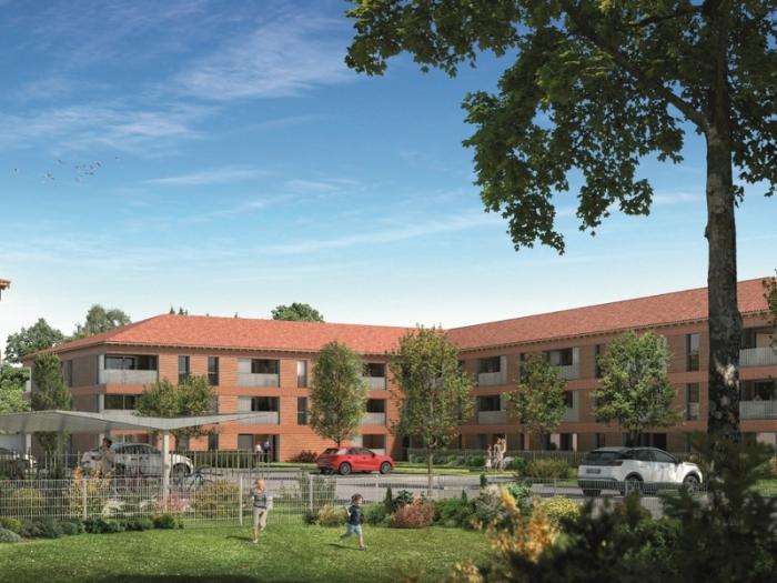 Appartements neufs Saint-Jory référence 4980 : aperçu n°0