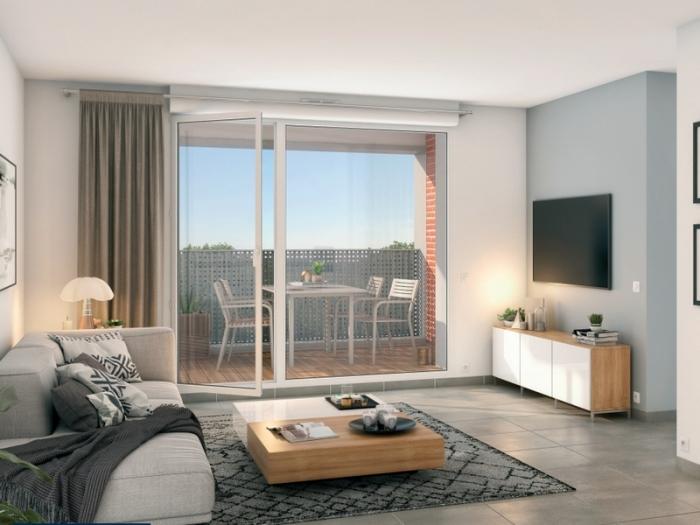 Appartements neufs Saint-Jory référence 4980 : aperçu n°1