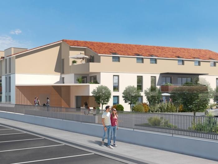Appartements neufs Castelginest référence 4815 : aperçu n°0