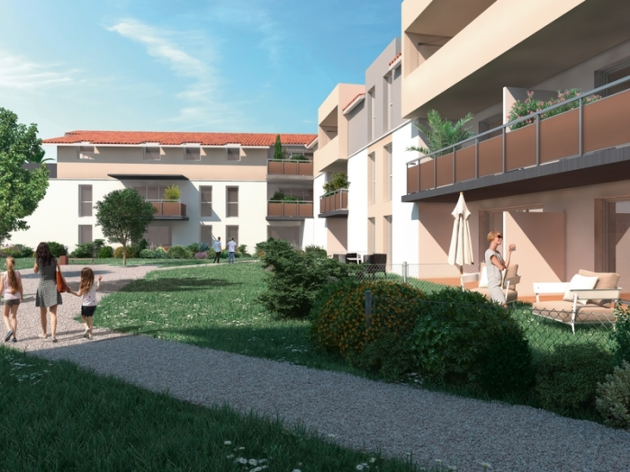 Appartements neufs Castelginest référence 4815 : aperçu n°2