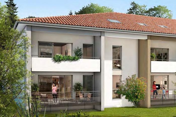 Appartements neufs Gagnac-sur-Garonne référence 4863 : aperçu n°0