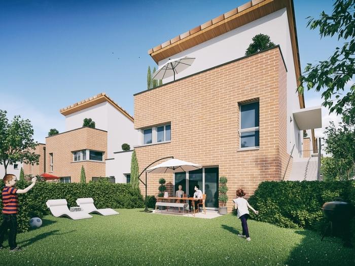 Appartements neufs Aucamville référence 4758 : aperçu n°3