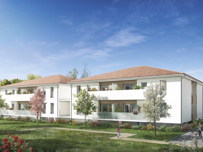 Appartements neufs Aucamville référence 4751 : aperçu n°0