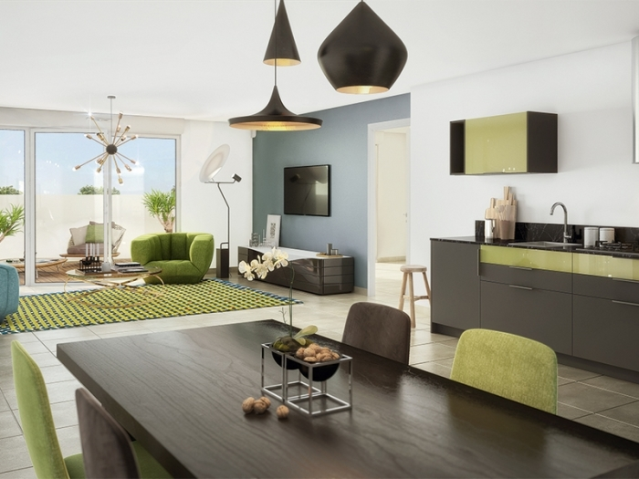 Appartements neufs Aucamville référence 4751 : aperçu n°1