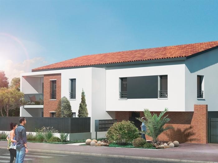 Appartements neufs Aucamville référence 4748 : aperçu n°0