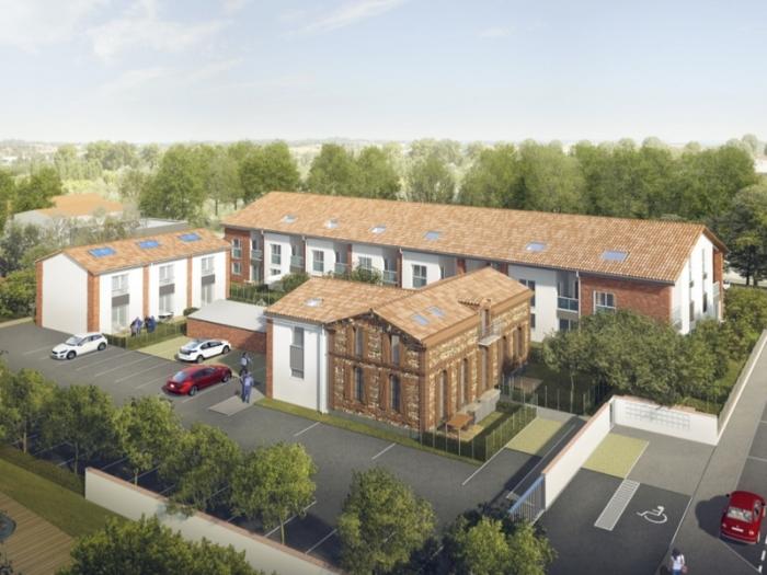 Appartements neufs Aucamville référence 4749 : aperçu n°0