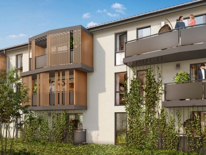 Appartements neufs Aucamville référence 4750 : aperçu n°0