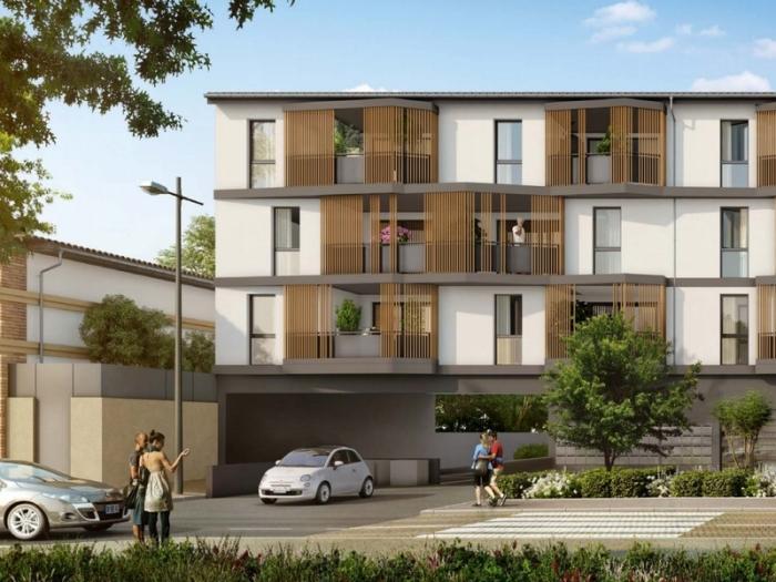Appartements neufs Aucamville référence 4750 : aperçu n°2