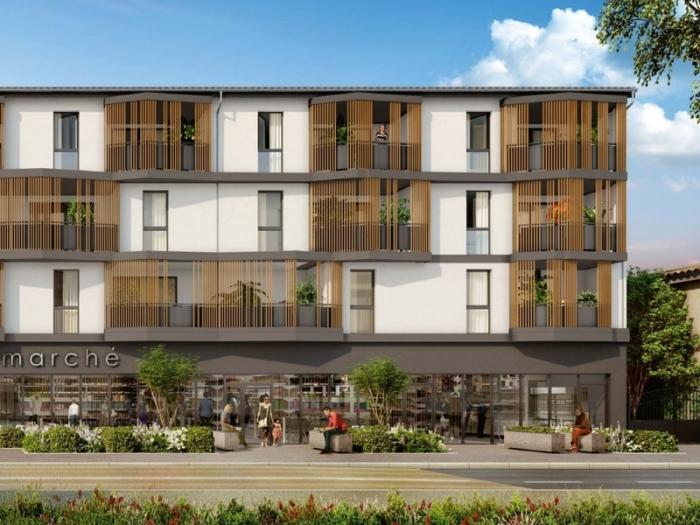 Appartements neufs Aucamville référence 4750 : aperçu n°3