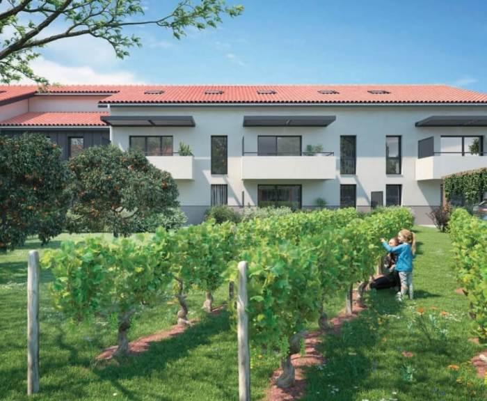 Appartements neufs Launaguet référence 3878 : aperçu n°2