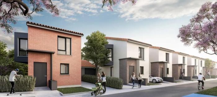 Maisons neuves Montrabé référence 3777 : aperçu n°0