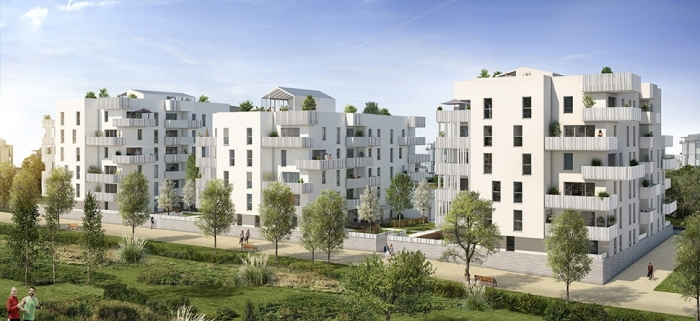 Appartements neufs Beauzelle référence 3851 : aperçu n°4