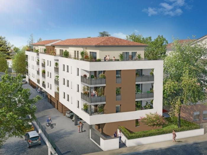 Appartements neufs Blagnac référence 4922 : aperçu n°0