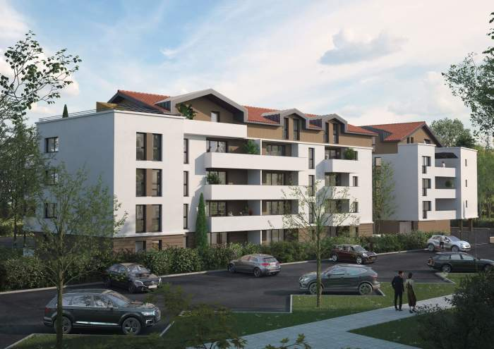 Appartements neufs Blagnac référence 3773 : aperçu n°0