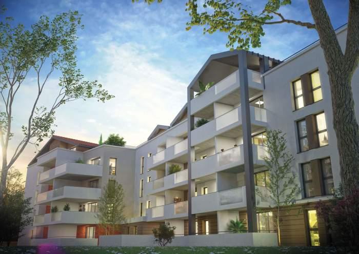 Appartements neufs Blagnac référence 3773 : aperçu n°3
