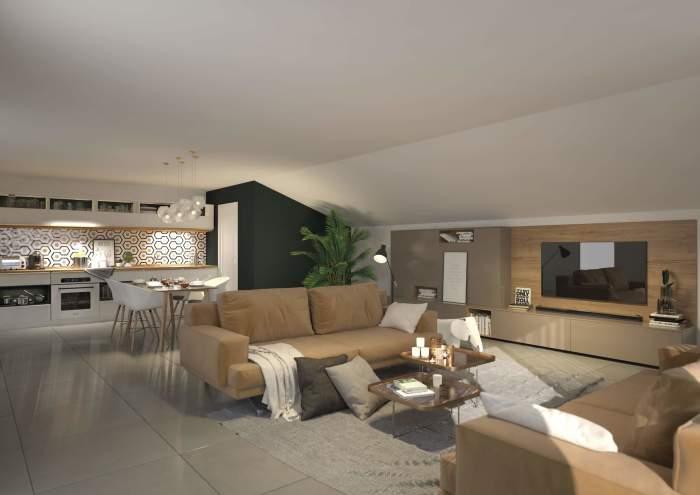 Appartements neufs Blagnac référence 3773 : aperçu n°2