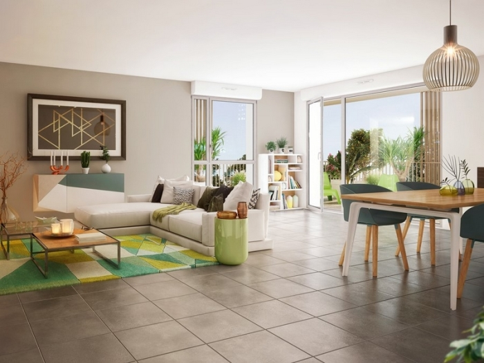 Appartements neufs Saint-Martin-du-Touch référence 4987 : aperçu n°1