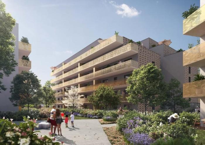 Appartements neufs Saint-Martin-du-Touch référence 3876 : aperçu n°0