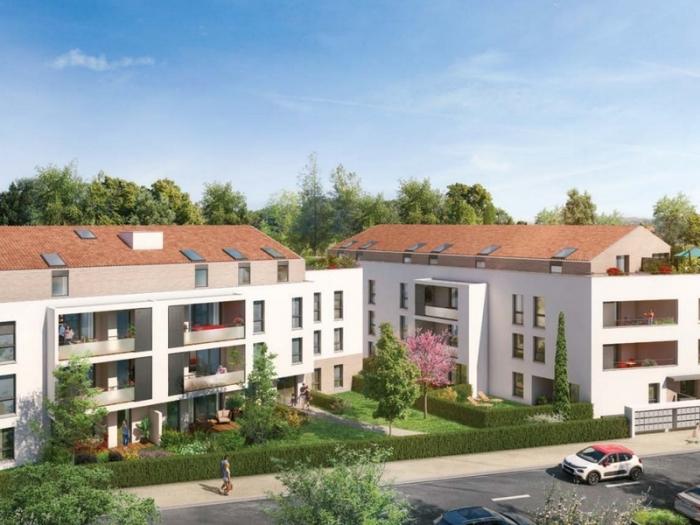 Appartements neufs Plaisance-du-Touch référence 4954 : aperçu n°0