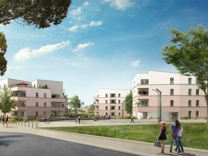 Appartements neufs Cugnaux référence 4852 : aperçu n°2