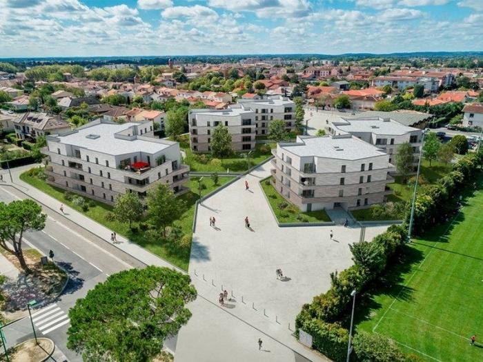 Appartements neufs Cugnaux référence 4852 : aperçu n°3