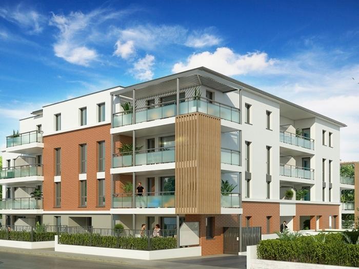 Appartements neufs Cugnaux référence 4854 : aperçu n°0