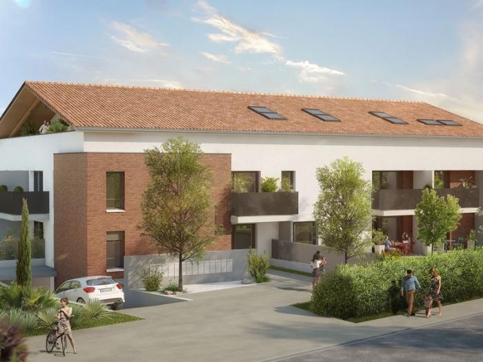 Appartements neufs Saint-Orens-de-Gameville référence 4994 : aperçu n°0