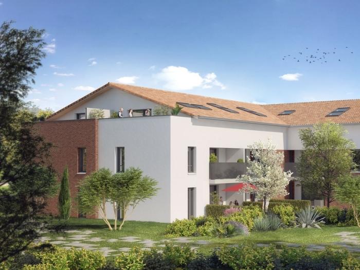Appartements neufs Saint-Orens-de-Gameville référence 4994 : aperçu n°3