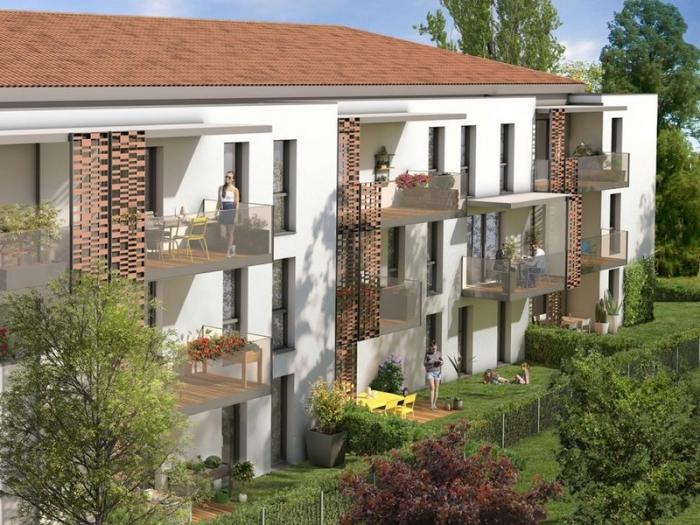 Appartements neufs Saint-Orens-de-Gameville référence 4995 : aperçu n°0