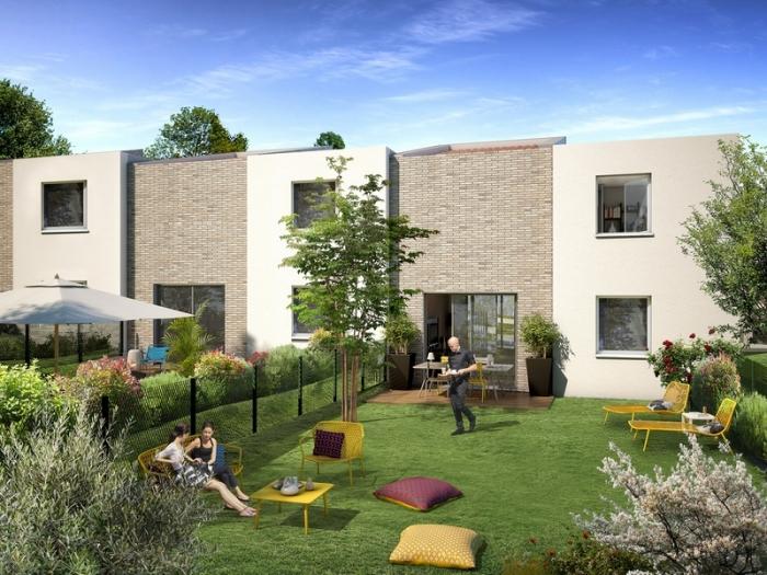 Maisons neuves Saint-Orens-de-Gameville référence 4996 : aperçu n°1