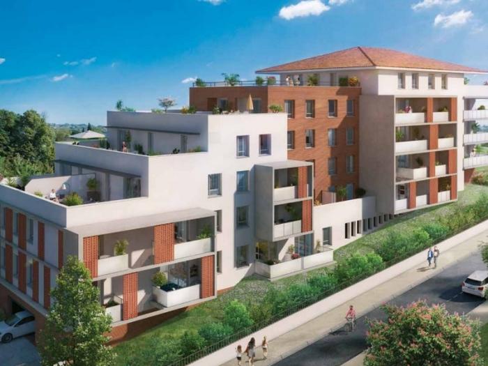 Appartements neufs Saint-Orens-de-Gameville référence 4997 : aperçu n°0