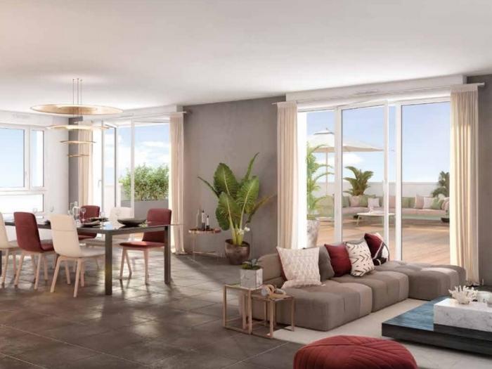 Appartements neufs Saint-Orens-de-Gameville référence 4997 : aperçu n°1
