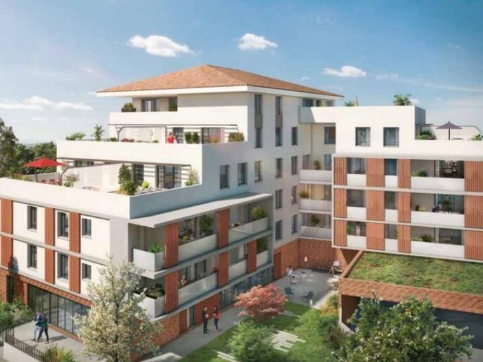Appartements neufs Saint-Orens-de-Gameville référence 4997 : aperçu n°3