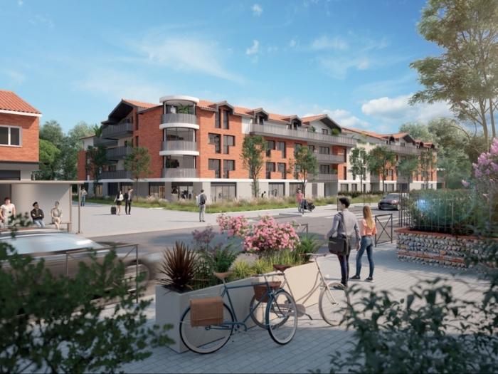 Appartements neufs Saint-Orens-de-Gameville référence 4993 : aperçu n°0