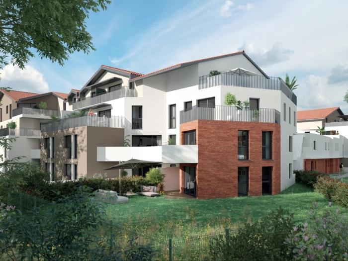 Appartements neufs Saint-Orens-de-Gameville référence 4993 : aperçu n°2
