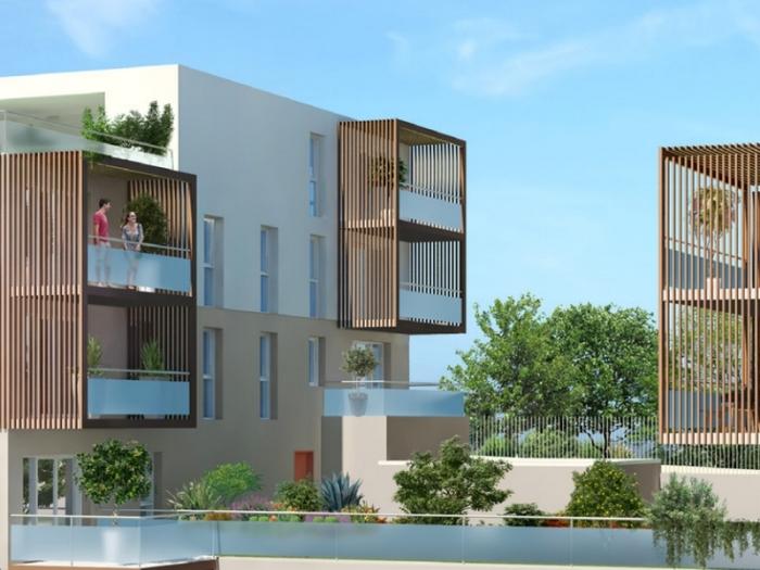 Appartements neufs Ramonville-Saint-Agne référence 4963 : aperçu n°2