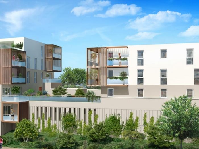 Appartements neufs Ramonville-Saint-Agne référence 4963 : aperçu n°0