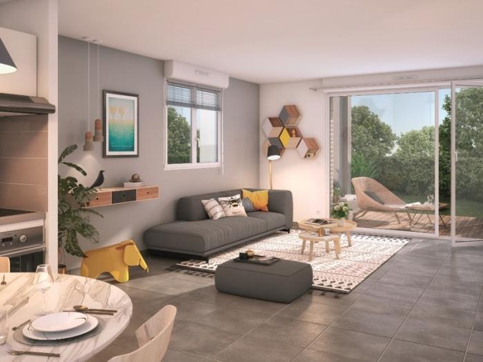 Appartements neufs Frouzins référence 4861 : aperçu n°1