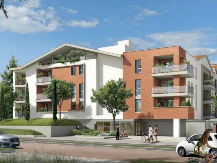 Appartements neufs Castanet-Tolosan référence 4803 : aperçu n°0