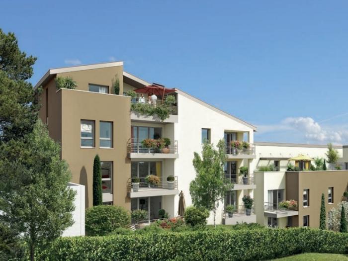 Appartements neufs Castanet-Tolosan référence 4803 : aperçu n°1