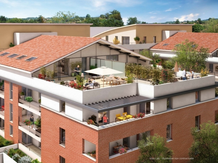 Appartements neufs Castanet-Tolosan référence 4804 : aperçu n°2