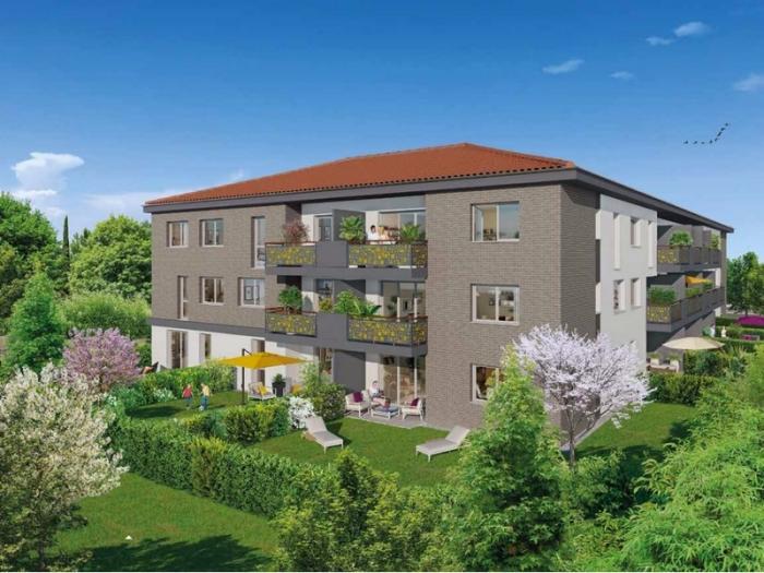 Appartements neufs Castanet-Tolosan référence 4805 : aperçu n°0