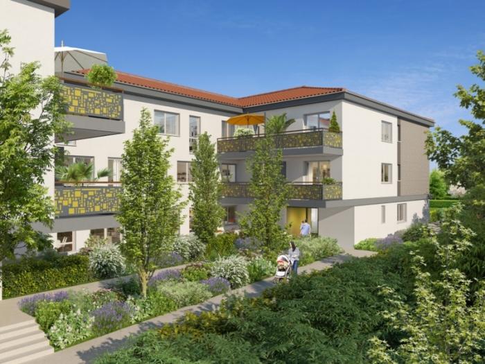 Appartements neufs Castanet-Tolosan référence 4805 : aperçu n°3
