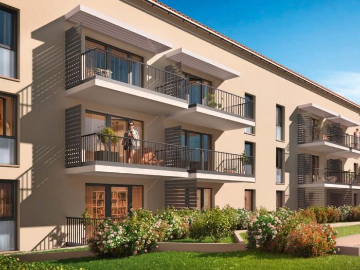 Appartements neufs Castanet-Tolosan référence 4716 : aperçu n°3