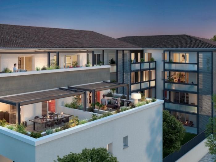 Appartements neufs Castanet-Tolosan référence 4813 : aperçu n°2