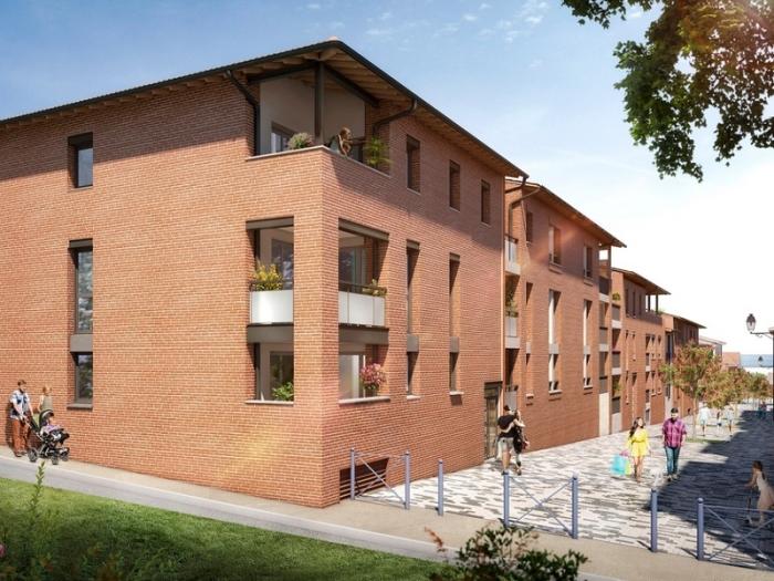 Appartements neufs Castanet-Tolosan référence 4814 : aperçu n°0